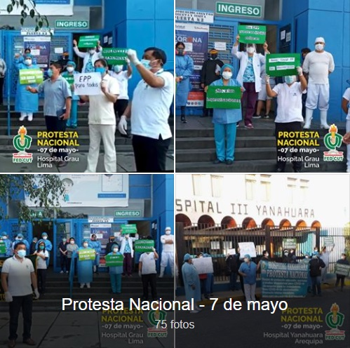 Álbum de Fotos: Protestas a nivel nacional