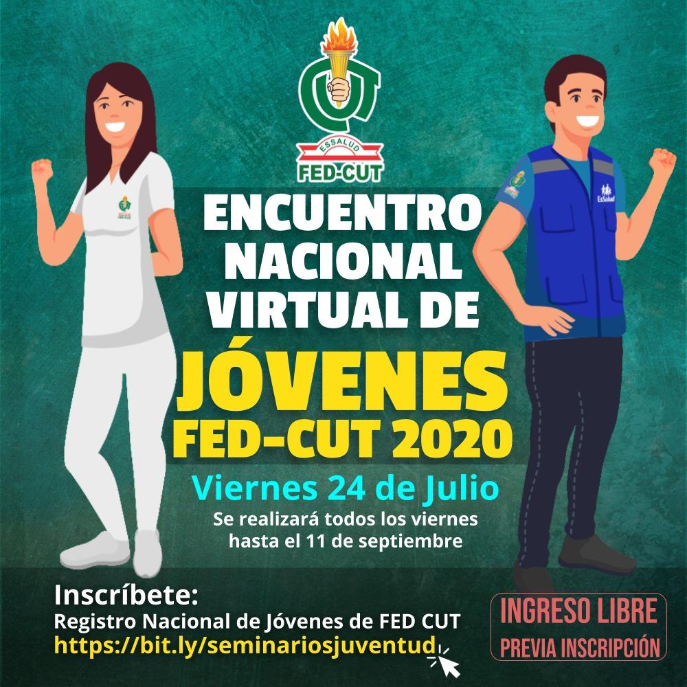 Encuentro Nacional Virtual de Jóvenes FED-CUT 2020